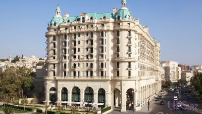 Four Seasons Hotel Baku ������ ������� ������ ������������ �� ������ World Travel Awards 2015