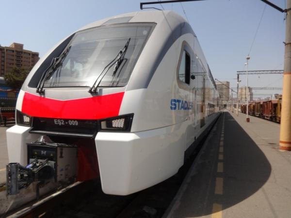 На скоростном электропоезде можно будет добраться до Гянджи