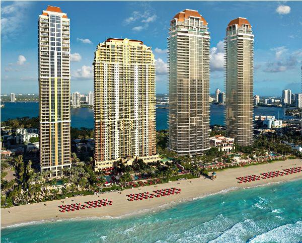 Уникальная резиденция The Estates at Acqualina в Майами