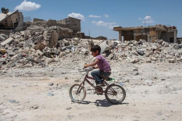 В Сирии только за минувший год погибло 652 ребенка