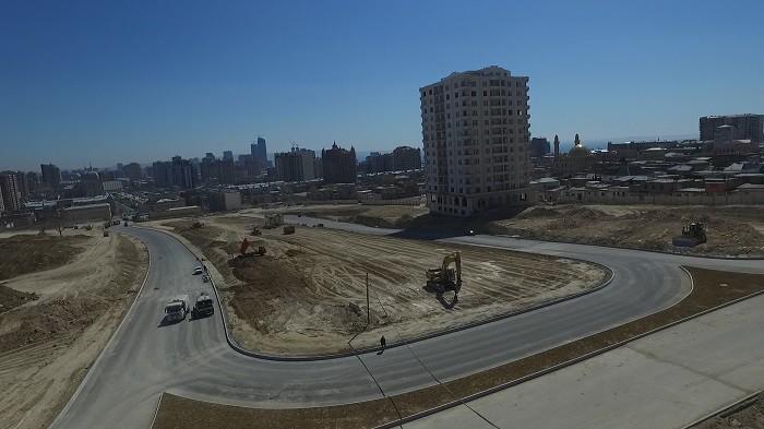 Завершается строительство всех новых дорог на бывшей «Советской»