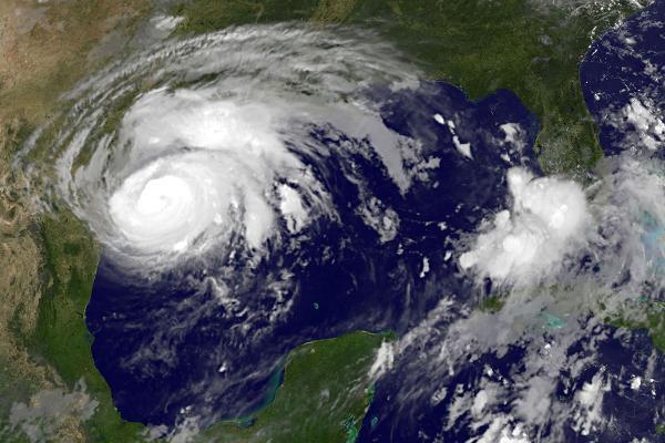 На Техас обрушился разрушительный ураган