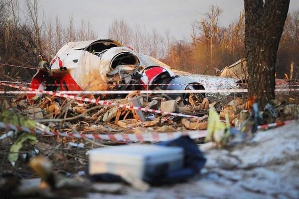 В Польше обнаружили запись взрыва на самописцах самолета Качиньского