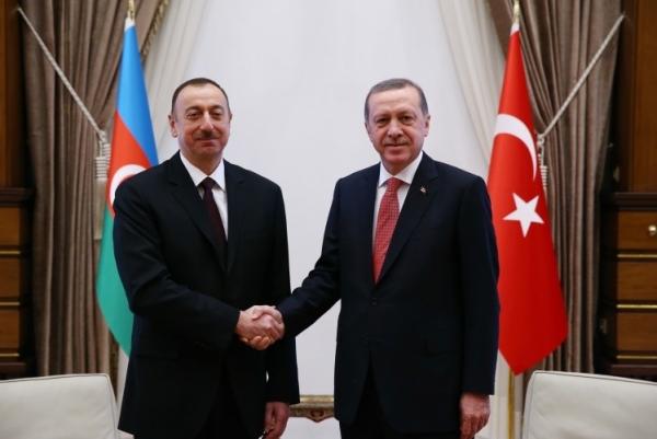 Эрдоган пригласил президента Азербайджана в Стамбул на чрезвычайный саммит ОИС по вопросу Иерусалима