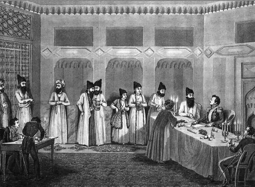 Исполняется 190 лет со дня подписания Туркменчайского договора