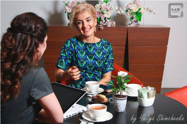 S.A.W. (Successful Azerbaijani Women): Гостья проекта Ната Османлы