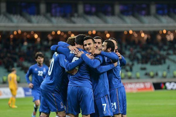 Сборная Азербайджана обыграла сборную Латвии