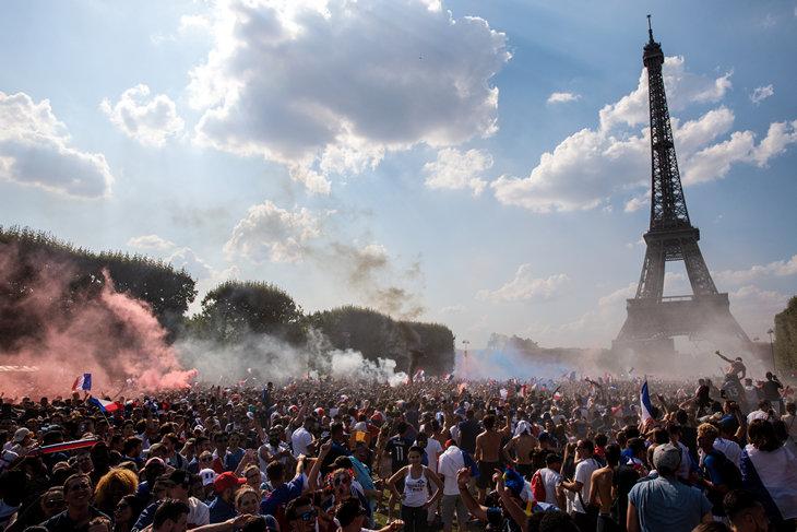 Сборная Франции стала победителем ЧМ-2018
