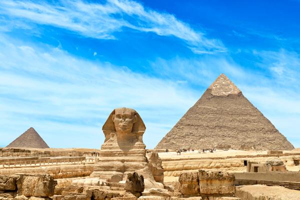В Египте нашли сфинкса в отличном состоянии