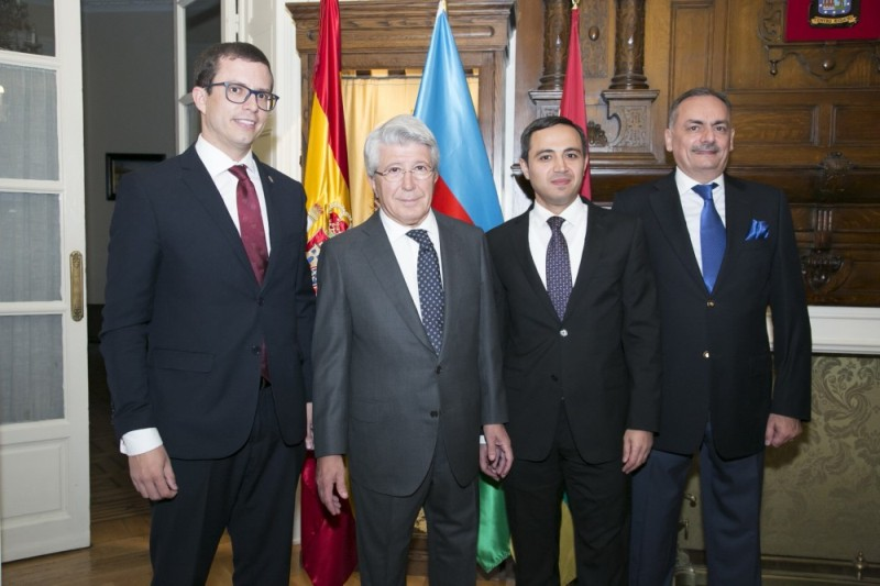 В Мадриде состоялась презентация азербайджанских вин