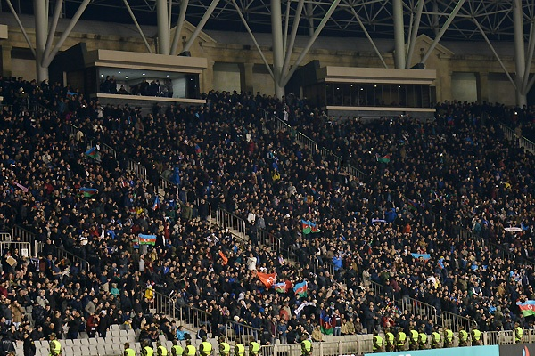 В Премьер-лиге Азербайджана зафиксирован рекорд численности болельщиков