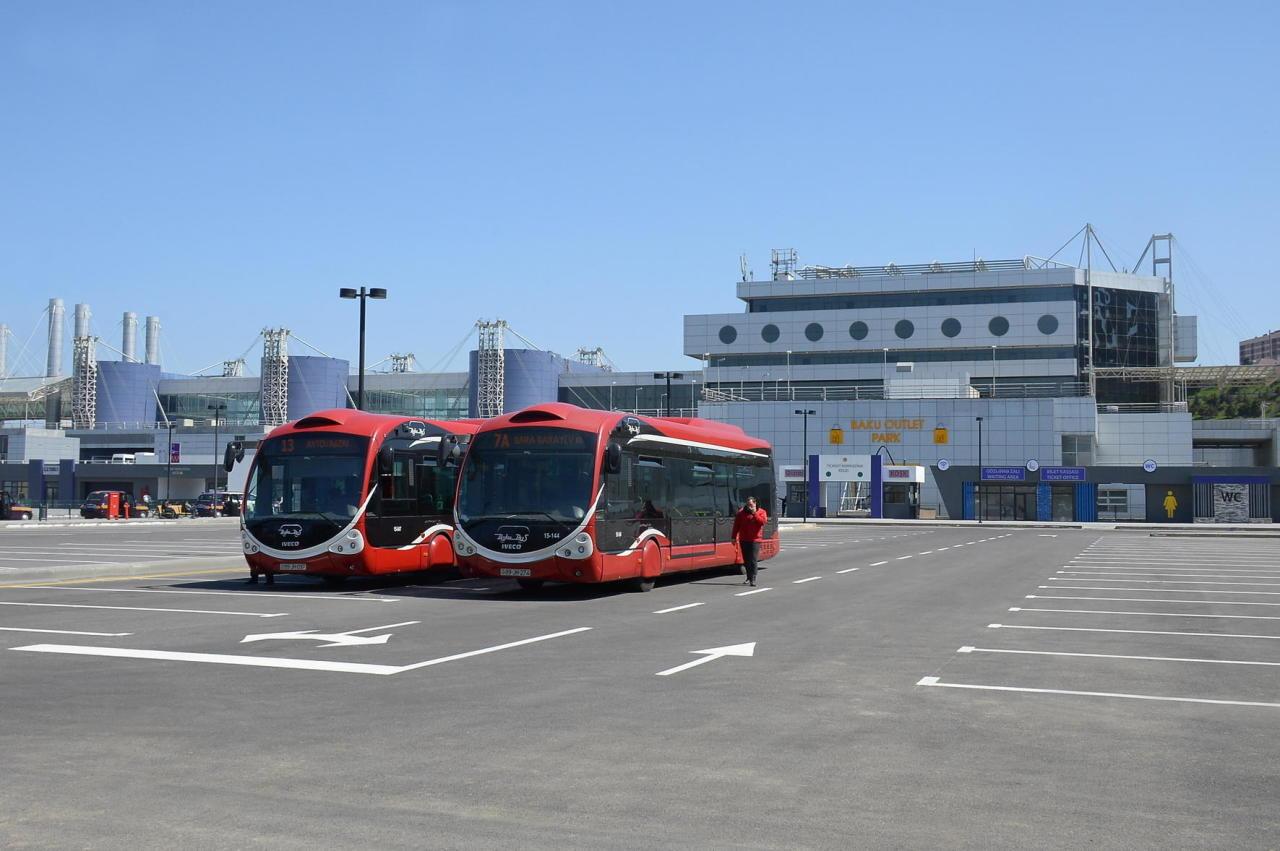 Новшество на территории Бакинского международного автовокзала