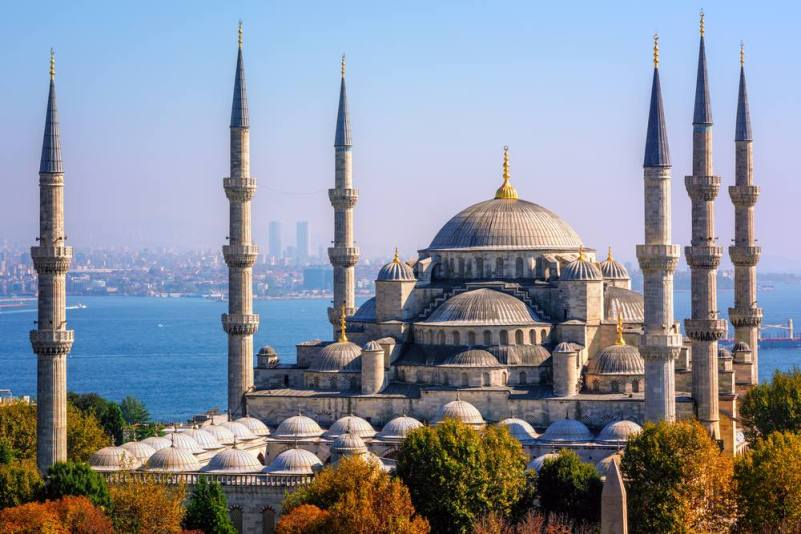 Сказочный и величественный Стамбул