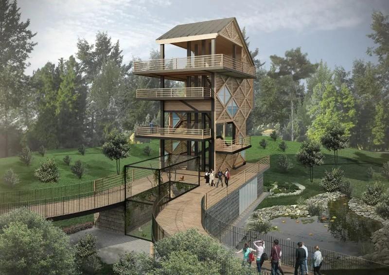 Представлен новый облик Бакинского зоопарка - Zoo Baku