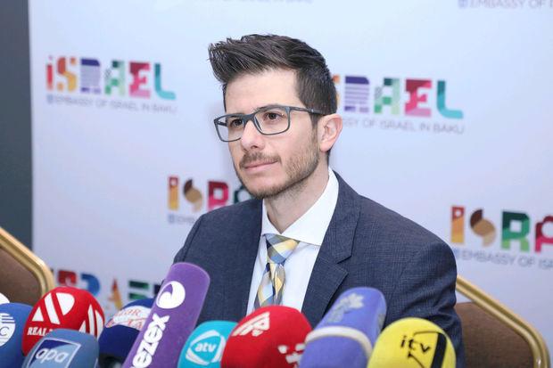 Посол: Восхищен дружбой, которую азербайджанский народ проявляет к Израилю